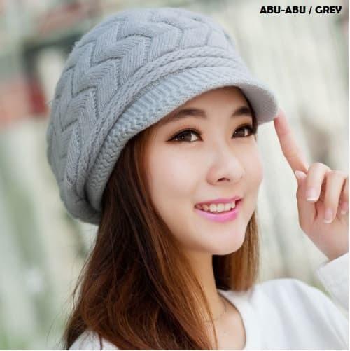 Jual Topi kupluk wool wanita untuk musim dingin   winter - Tuton s ... 0d69c87e8c