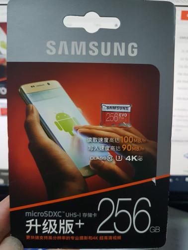 harga Samsung microsd card 256gb evo + class 10 uhs 3 256 gb 100mb non adapt Tokopedia.com