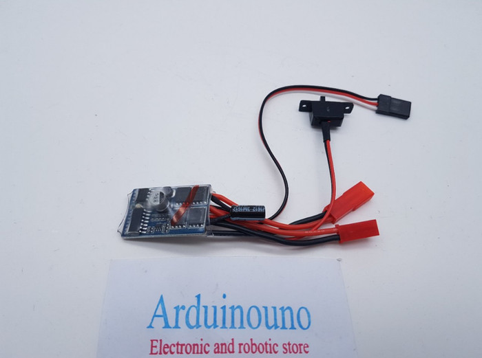Esc diy 10a brushed esc electric speed controller with brake