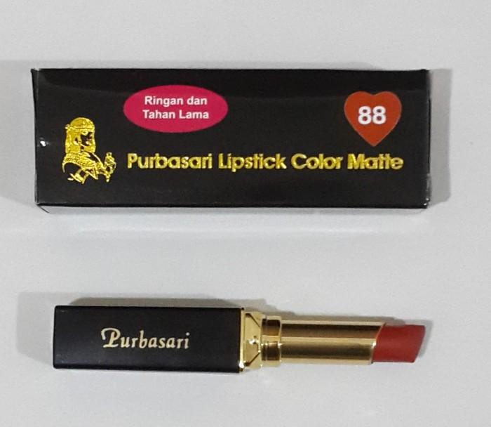 Purbasari Lipstick Color Matte 88 - Blanja.com