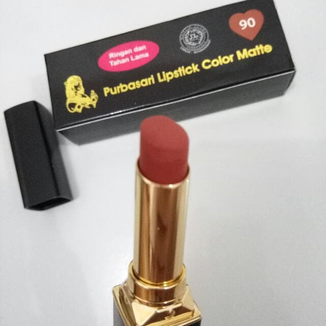 Purbasari Lipstick Color Matte 90 - Blanja.com