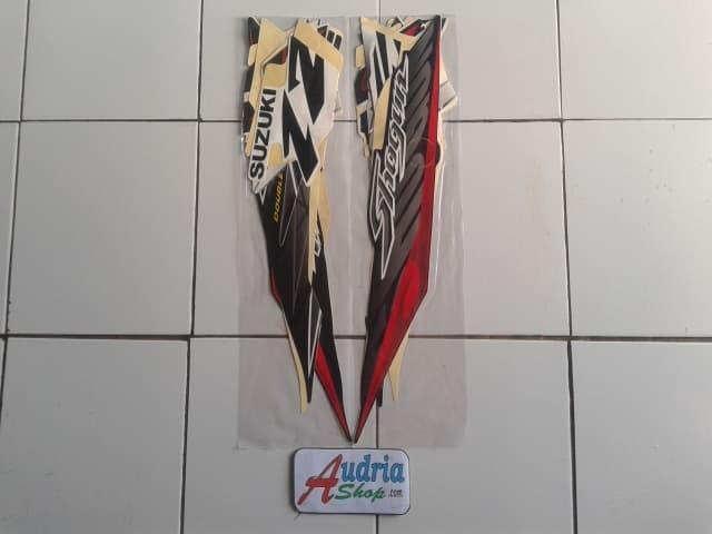 ... harga Stiker striping motor suzuki shogun sp 125 2007 hitam-putih Tokopedia.com