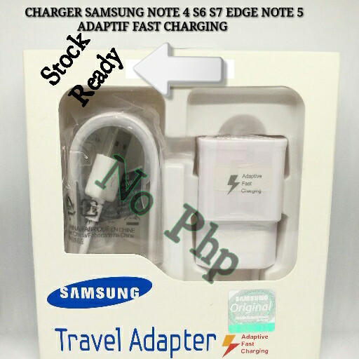 harga Charger samsung galaxy note 4 fast charging original 100% Tokopedia.com