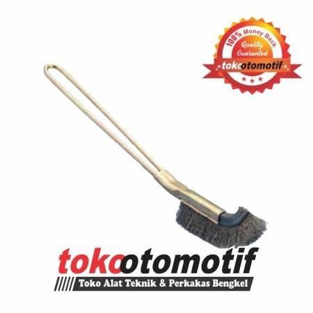 harga Sikat tangan kawat besi gagang besi (0.20mm) top quality sikat baja Tokopedia.com