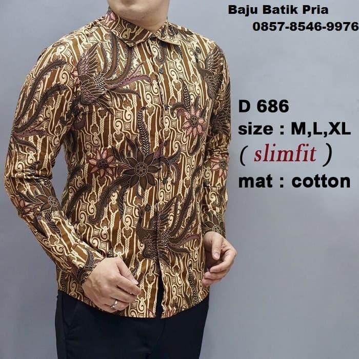 Jual Desain Baju Batik Model Baju Gamis Batik Baju Batik Kerja Dki Jakarta El Lailiyah Tokopedia