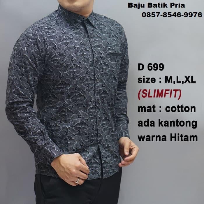 Jual Model Baju Gamis Batik Baju Batik Kerja Model Baju Terkini Dki Jakarta El Lailiyah Tokopedia