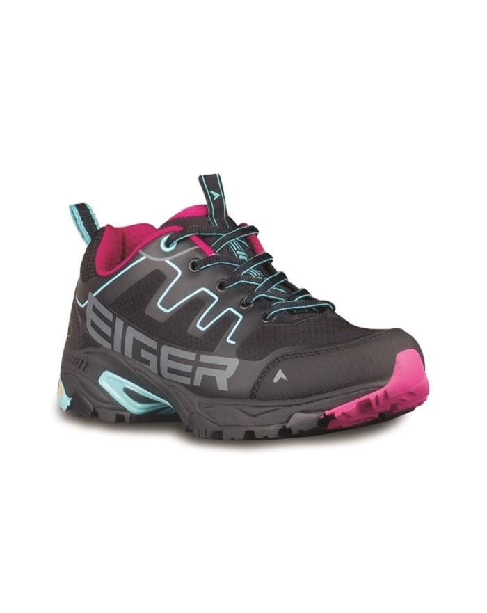 harga Sepatu eiger pulse trail run woman shoes - black blue 910003607h ori  Tokopedia.com 087ae3efc2