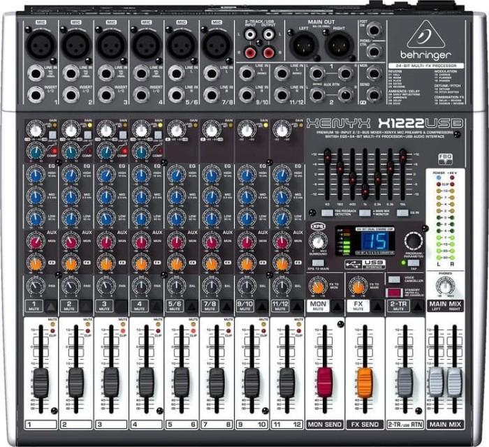 harga Behringer xenyx x1222usb / x1222 usb / x 1222 usb audio mixer Tokopedia.com