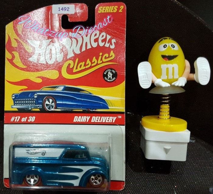 harga Hot wheels dairy delivery (hot wheels classics) - blue Tokopedia.com