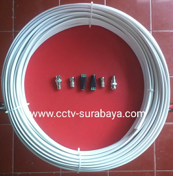harga Kabel cctv plus power rg59 merek mmp 10 meter lengkap bnc plus dc Tokopedia.com