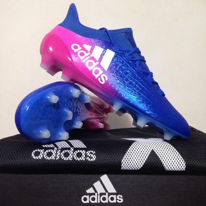 harga Sepatu bola adidas x 16.1 fg blue shock pink bb5619 original bnib  Tokopedia.com d0f9a9e149