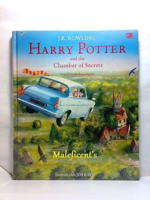 harga Harry potter dan kamar rahasia chamber of secret (illustrated edition) Tokopedia.com