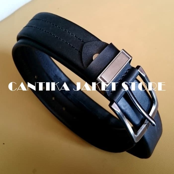 Sabuk belt gesper ikat pinggang pria kulit asli 002
