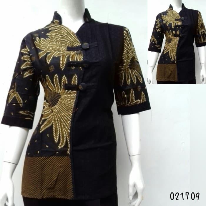 harga Kemeja batik wanita | blouse batik | blus batik kantoran Tokopedia.com