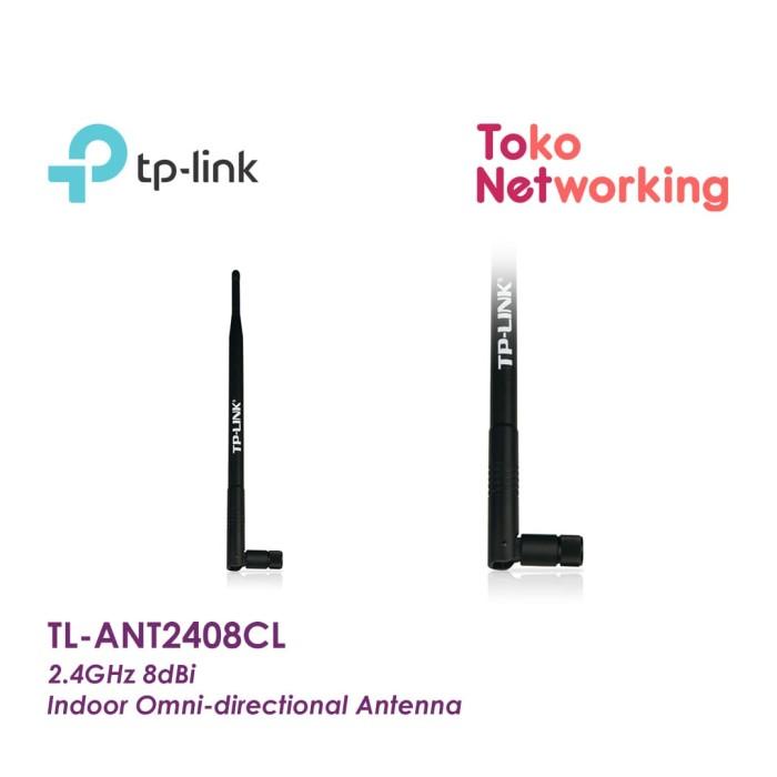 TP-LINK TL-ANT2408CL 2.4GHz 8dBi Indoor Omni Antenna ANT2408CL 2408CL