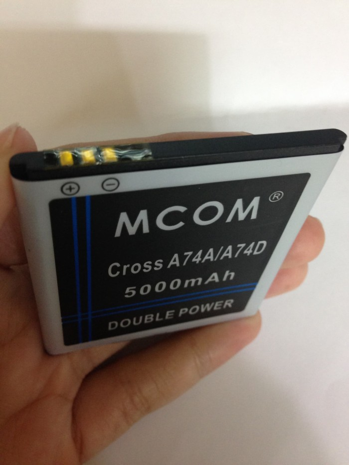 harga Baterai evercoss cross a74a winner t 5000mah double power mcom Tokopedia.com