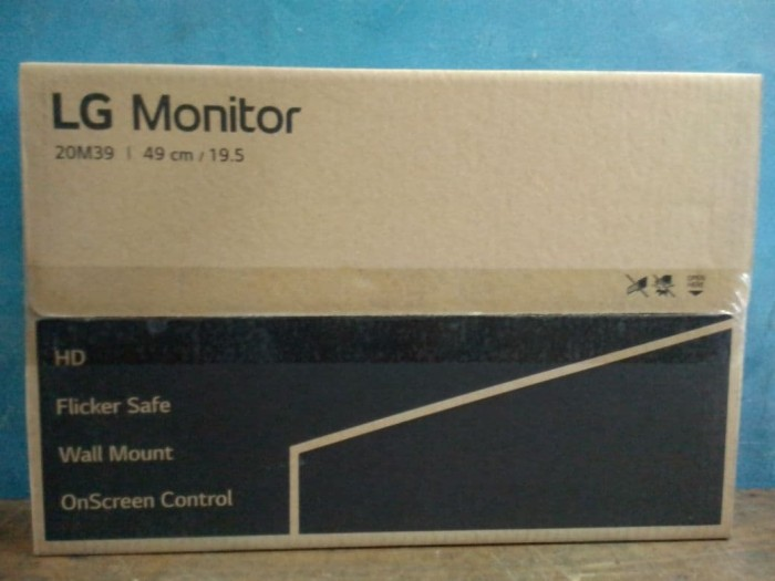 harga Led monitor lg 19.5 inchi widescreen 20m39a-b Tokopedia.com