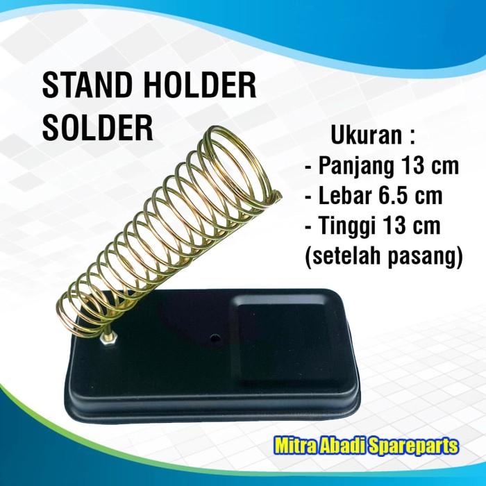 Foto Produk Mount Stand Holder Solder/Alat Pegangan/Dudukan Solder dari Mitra Abadi Spareparts