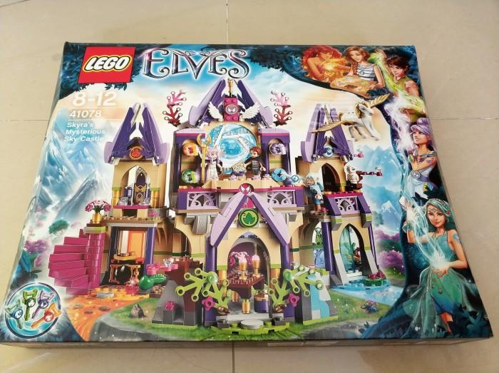 harga Lego elves skyras mysterious sky castle 41078 Tokopedia.com