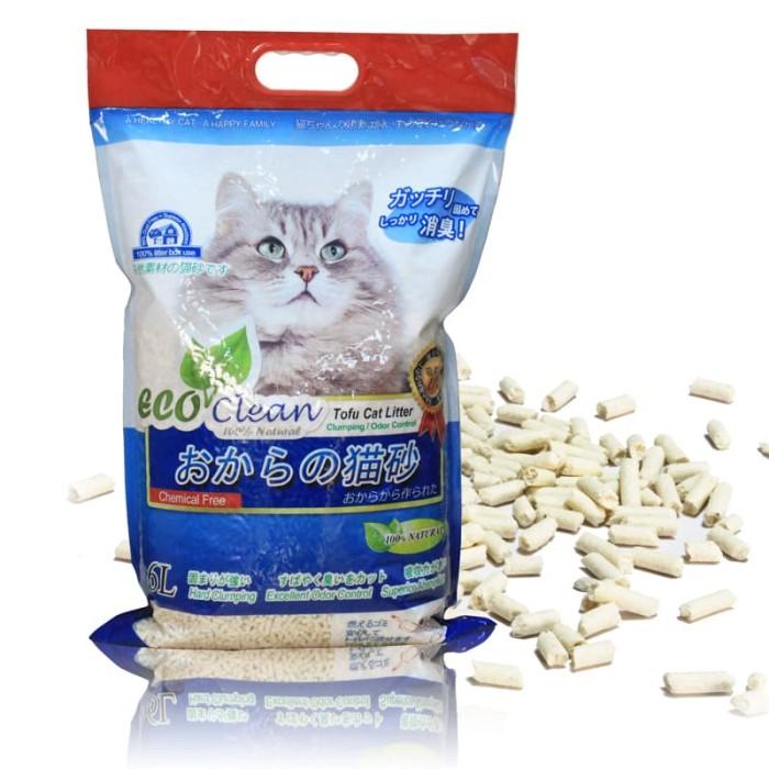 Jual Tofu Eco Clean Cat Litter 6l Pasir Organik Kucing Kota Depok Pet Shop Indonesia Tokopedia