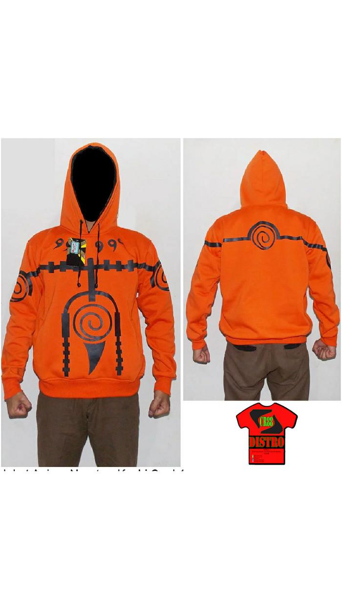Jual Jaket Anime Kurama Naruto Orange L Kab Gresik Chrisjun Gemstone