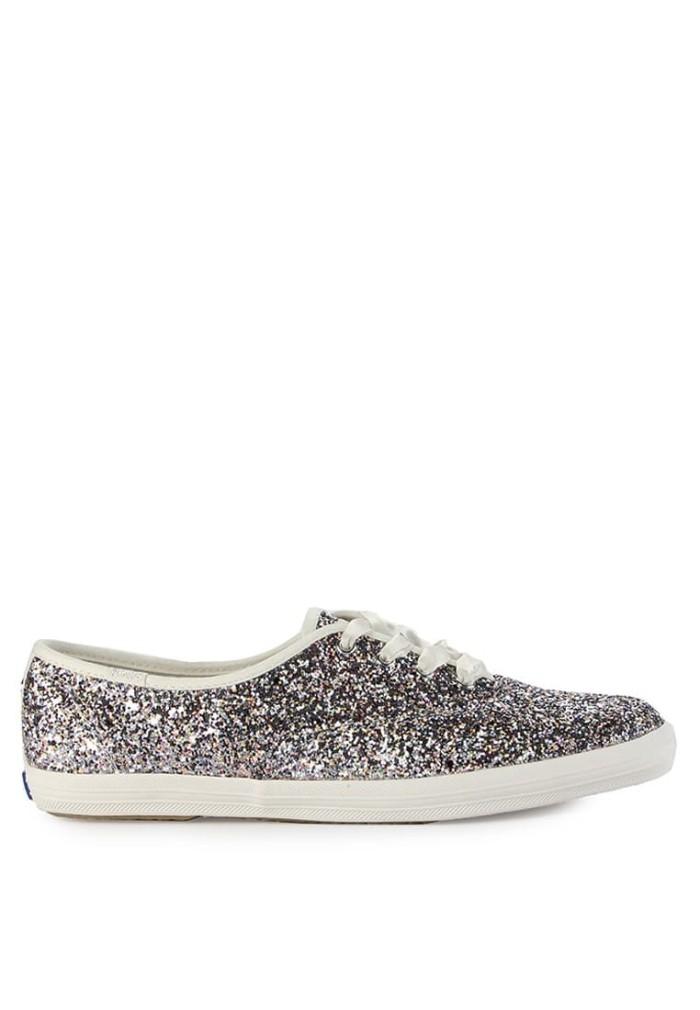 8a319754c4ed Jual Sepatu Sneakers Keds Kate Spade Champion Cvo - Silver Multi ...