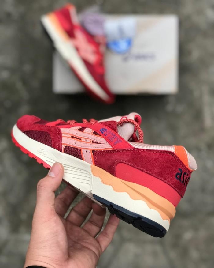 quality design 1e2cd 837a1 Jual Asics Gel Lyte V Volcano - Asics Gel Lyte 3 Asics Gel pria - Merah, 40  - sneakers_bdg | Tokopedia