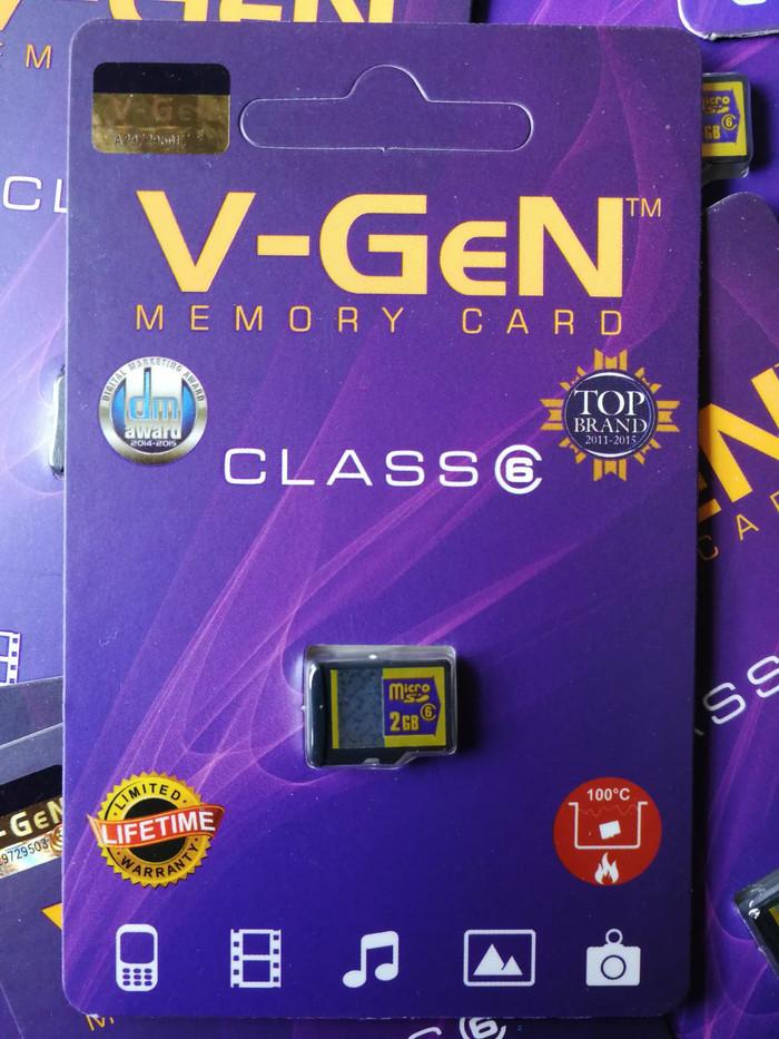 harga V-gen 2gb memory card microsd eksternal vgen android komputer Tokopedia.com