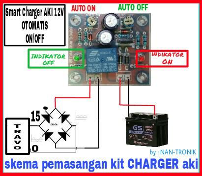 harga Kit smart charger mode auto on & auto cut off Tokopedia.com