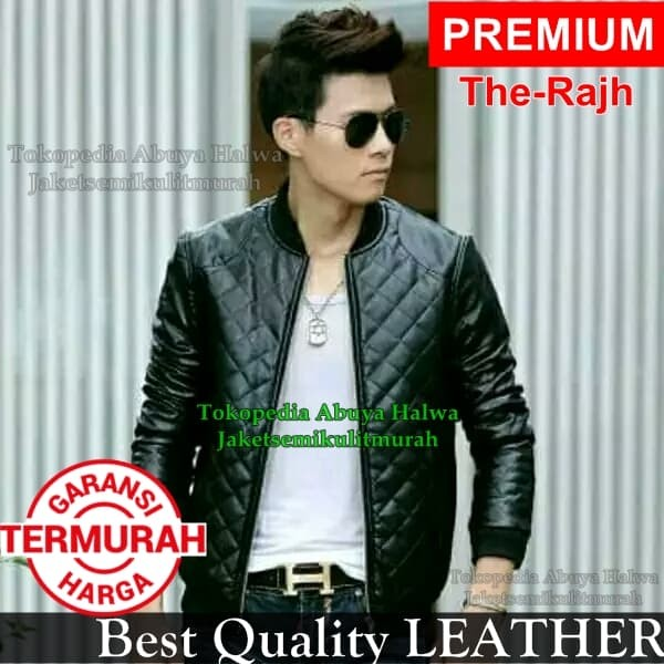 Jual Jaket Semi Kulit Pria Boy Anak Langit The Rajh Leather Premium ... fe4cfc4f03