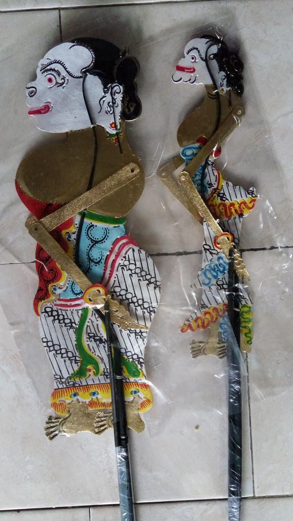 Jual Wayang Kulit Limbuk Cangik 70&62 Cm Kab Magelang Manunggal Jaya Art
