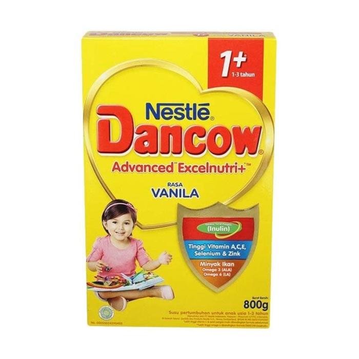 harga Dancow 1+ vanila 800 gram Tokopedia.com