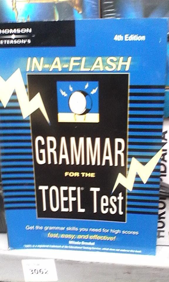 harga In a flash grammar for the toefl test 4th edition oleh milada broukal Tokopedia.com