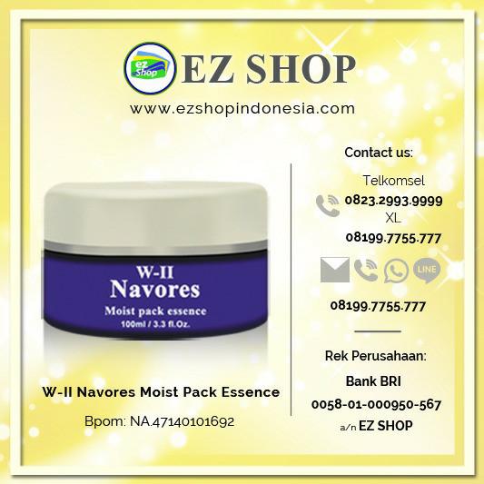 harga W-ii navores moist pack essence Tokopedia.com
