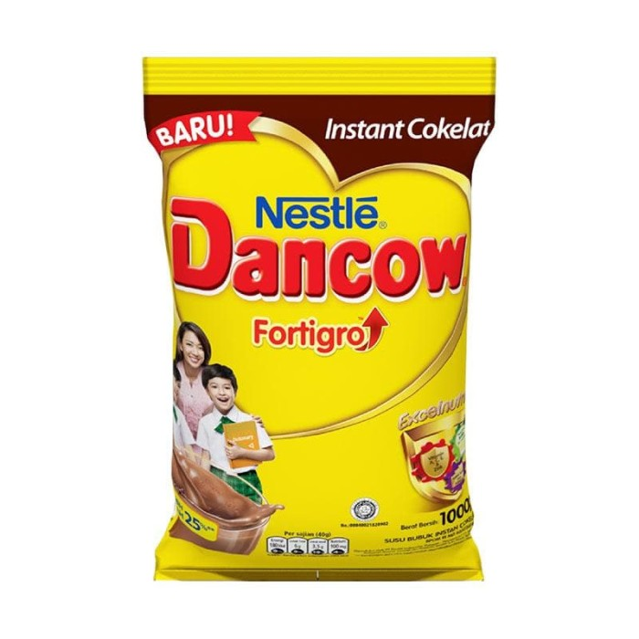 harga Dancow susu cokelat fortigro refill 1000gr Tokopedia.com