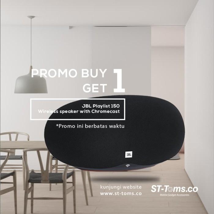 harga Buy 1 get 1 jbl playlist 150 wireless speaker with chromecast built-in Tokopedia.com