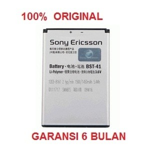 harga 100% original sony ericsson battery bst-41 / xperia x1 x2xperia play Tokopedia.com