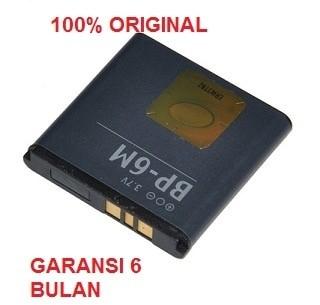 harga 100% original nokia battery bp-6m / 9300 9300i n73 n77 n93 dll Tokopedia.com