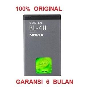 harga 100% original nokia battery bl-4u / e66 e75 asha 501 c5-03 dll Tokopedia.com