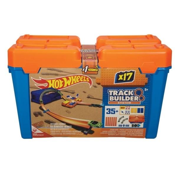 Car Hot Wheels Track & Builder Stunt Box. Mainan Mobil Track Meluncur