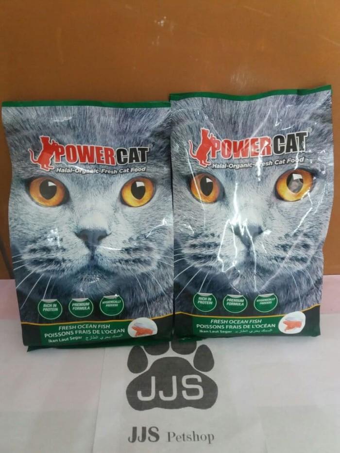 harga Makanan kucing power cat ocean fish 14kg Tokopedia.com