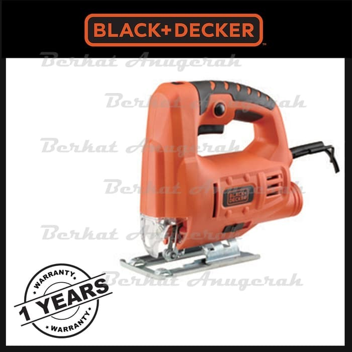 harga Black & decker js20 mesin jigsaw 65mm gergaji ukir kayu / triplek 400w Tokopedia.com