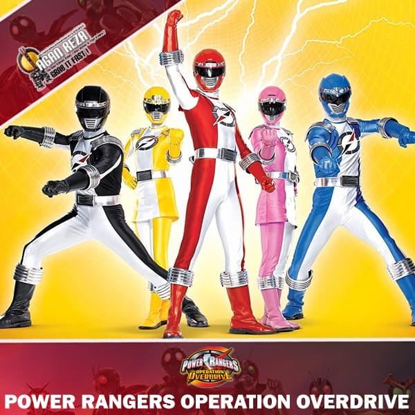 harga Dvd power rangers operation overdrive (2007) Tokopedia.com