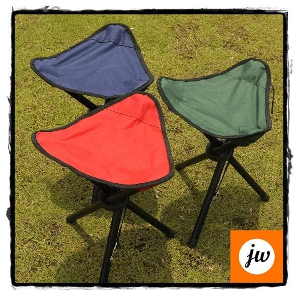harga Kursi lipat memancing folding three legged beach stool chair Tokopedia.com