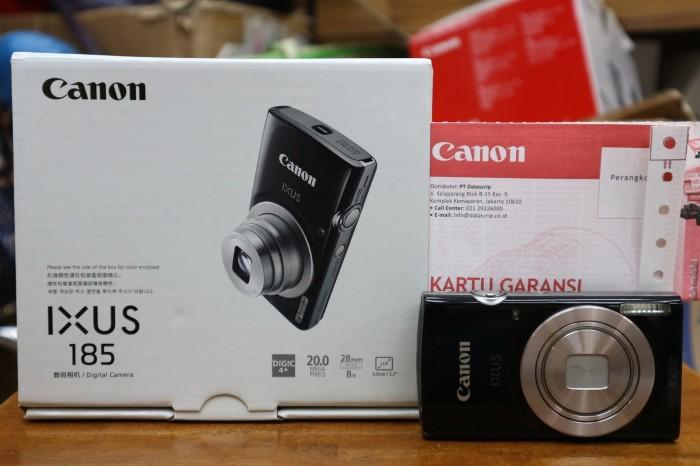 harga Canon ixus 185 hitam garansi resmi Tokopedia.com