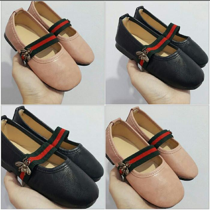 harga Sepatu flat gcci import size 21-30 Tokopedia.com