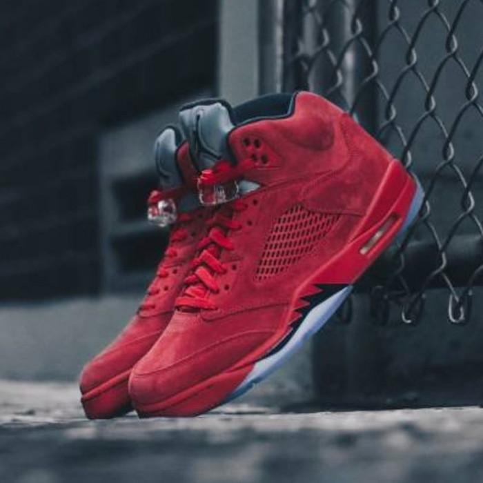12aaf5303c6 Jual Nike Air Jordan 5 Retro Red Suede - Kota Samarinda - Sneakers ...
