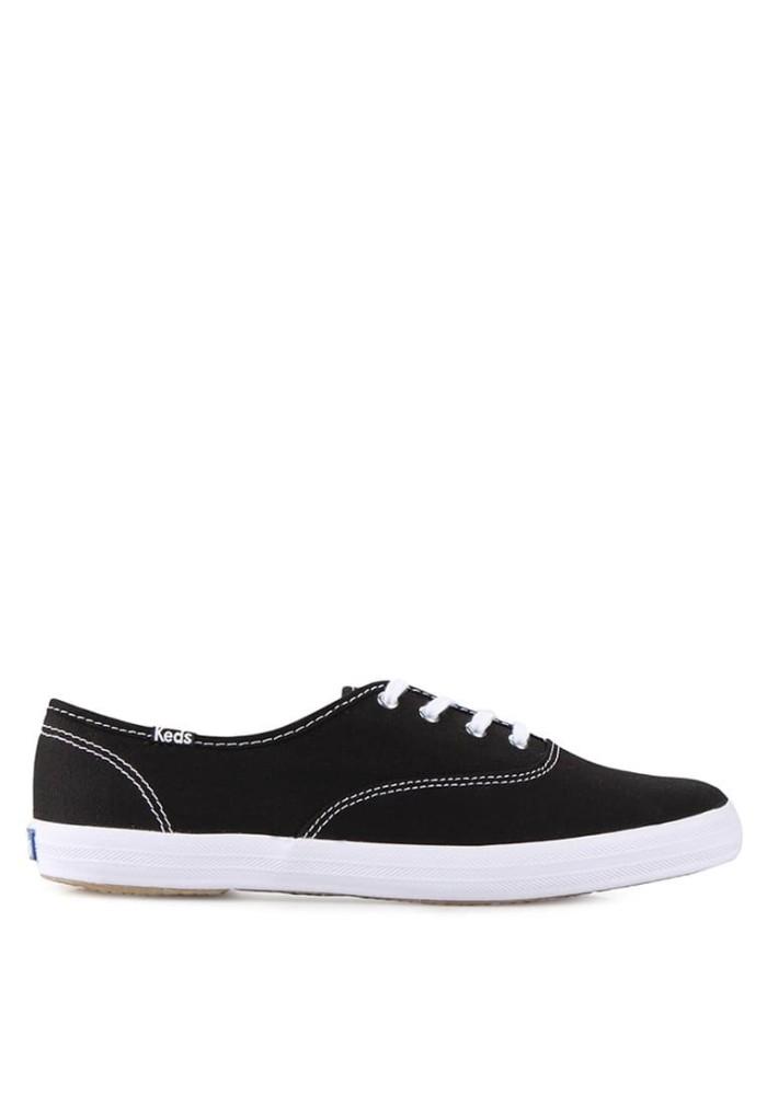 65391259 Jual Sepatu Sneakers Keds Champion Core Canvas - Black/White - Kota ...