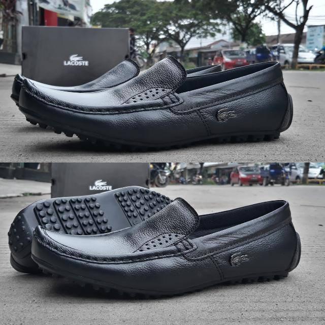 sepatu casual lacoste sepatu slip on lacoste sepatu pantofel kulit asl 02c5f3fbd2