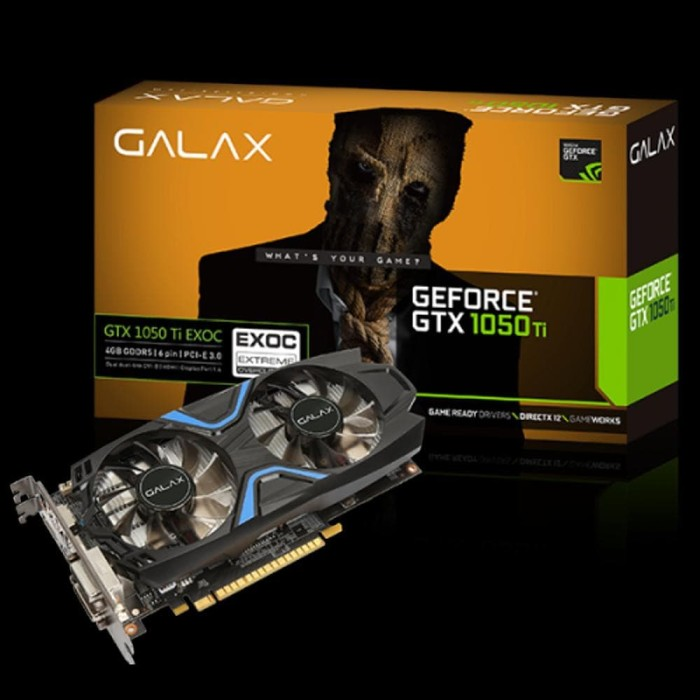 Jual Vga Galax Gtx1050ti 4gb Harga Promo Terbaru